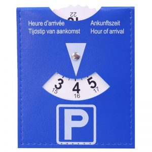 Parkeerschijf - dysk parkingowy