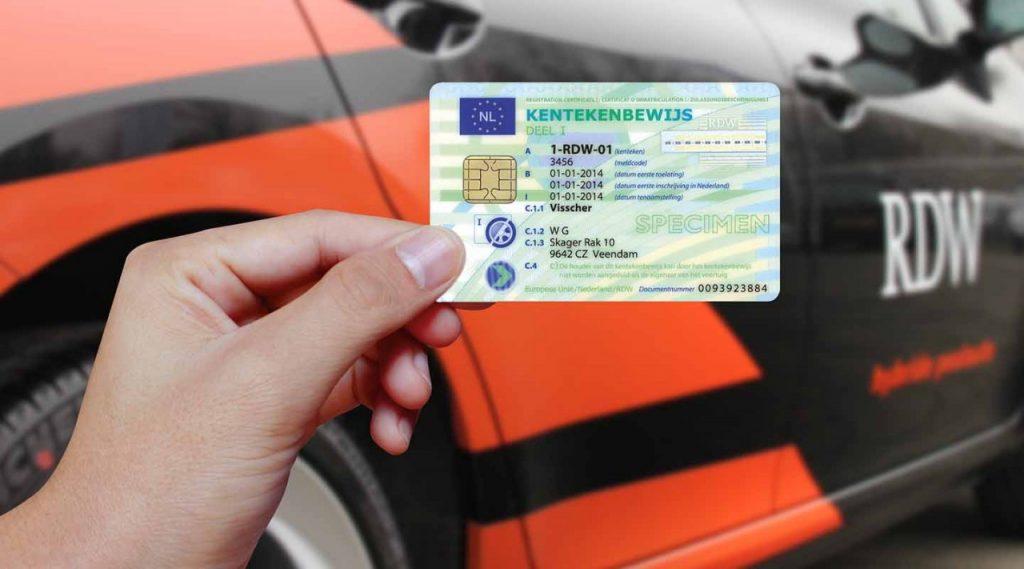 Rejestracja pojazdu w Holandii